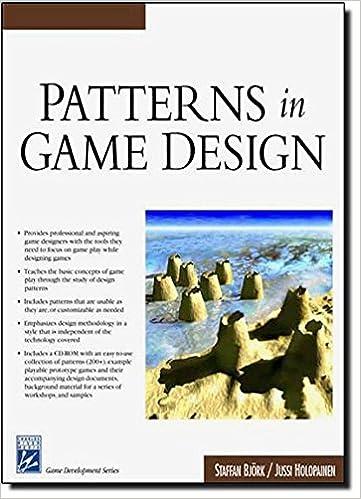 Pdf patterns in game design