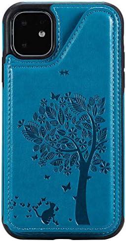 iPhone 7 PUレザー ケース, 手帳型 ケース 本革 全面保護 ビジネス ポーチケース 財布 カバー収納 手帳型ケース iPhone アイフォン 7 レザーケース