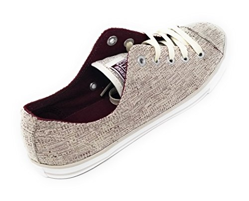 Deep Women Dainty Star Sparkle Taylor white buff Ox Ctas All Knit Color Converse Chuck 8 Size Bordeaux TwHRxCqdPC