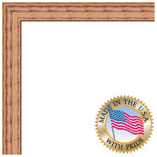 ArtToFrames 18x21 inch Honey on Red Oak Wood Picture Frame, 2WOM0066-1343-YHNY-18x21
