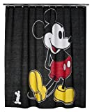 Disney Mickey Mouse Fabric Shower Curtain 100% Cotton