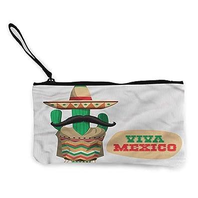 flybeek Monedero mexicano, cita nacionalista de cactus, 8.5 ...