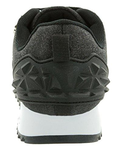 Beppi Damenschuhe schwarze Modeschuhe Glitzerapplikationen, versch. Größen