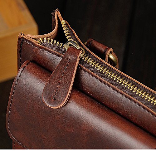 Nuben Small Brown Brown For Shoulder Brown Man Bag w1qrw4a