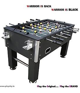 Foosball Table / Soccer Table / Football Table   Warrior Edition With U00272u0027  Cup