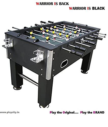 Buy Play In The City Unisex Football Table With 2 Cup Holders
