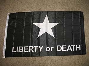 Texas Troutman táctico negro libertad o muerte batalla 3x 5bandera Banner 150Denier