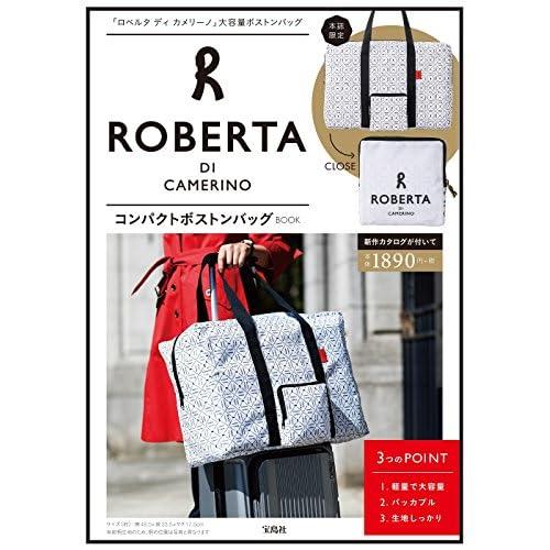 ROBERTA DI CAMERINO コンパクトボストンバッグ BOOK 画像