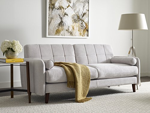 Millwork Holding Serta Savanna Collection Loveseat, 61″, Ivory