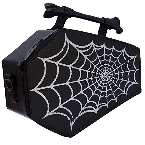 Spiderweb Coffin Purse...