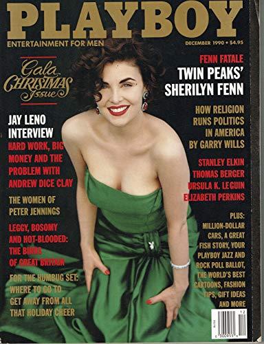 Playboy - December 1990 Single Issue Magazine – 1990 ()