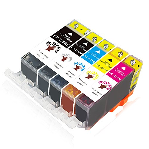 Pgi 220 Combo Pack - ONLYU Ink Cartridge, PGI-220 CLI-221 High Yield Compatible For Canon Pixma MP560 MP620 MP980 MP990 MX860 MX870 Printers 5-Pack(1Large Black, 1Small Black, 1Cyan, 1Magenta, 1Yellow)