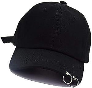 gorra de bts con argollas en la bicera