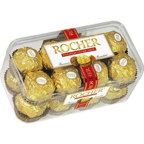 Ferrero Rocher 16 Piece - Ferrero Rocher 16 Pieces 200g