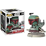 BOBA FETT with SLAVE ONE POP 213 Star Wars NYCC 2017 Fall Exclusive