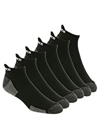 New Balance Men's 6 Pack Performance No Show Socks with Tab
