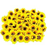 YISNUO-Artificial-Flowers-Fake-Sunflowers-Silk-Flowers-Table-Centerpieces-Arrangements-Home-Indoor-Decorations-Wedding-Party-Dcor