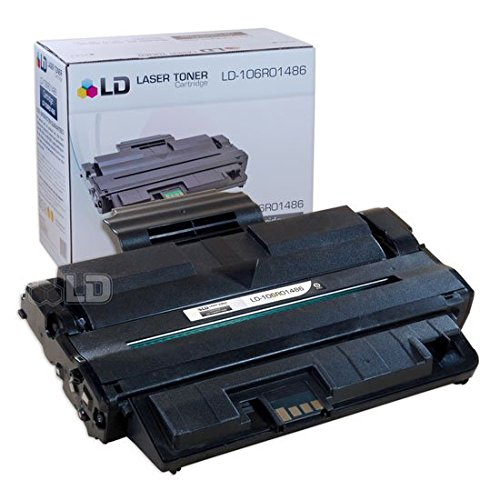 - LD Compatible Toner Cartridge Replacement for Xerox 106R1486 (Black)