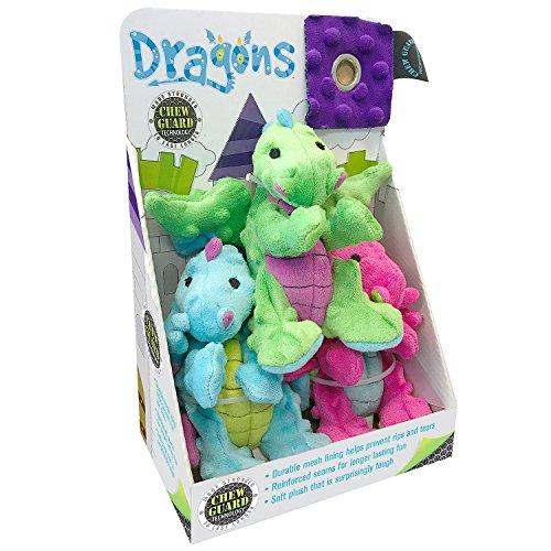 TrustyPup Dog Toys - Dragons
