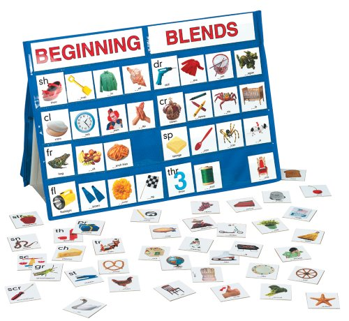 Table Top Pocket Chart Beginning Blends (Digraphs Puzzles)