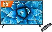 "Smart TV LED 65"" 4K UHD LG 65UN731C 3 HDMI 2 USB Wi-Fi Assitente Virtual Blue"