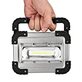 LED Rechargeable 30W USB COB LED Portable Rechargeable Flood Light Spot Work Camping Outdoor LampMobile Portable Work Site FloodLight Camping Fishing Durable