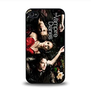 iPhone 4 4S case protective skin cover with The Vampire Diaries cool design #11