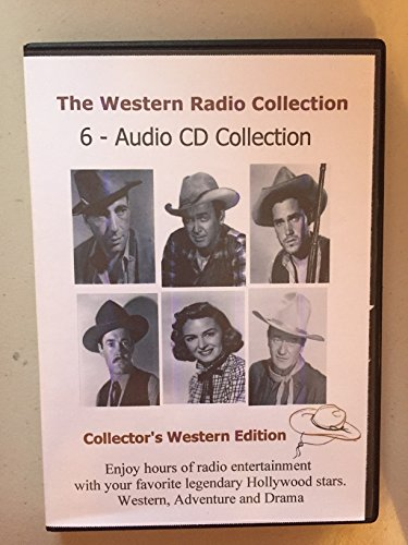 The Western Radio Collection 6 Audio CD's-Collectors ()