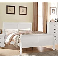 ACME Furniture Louis Philippe 23845T Twin Bed, White