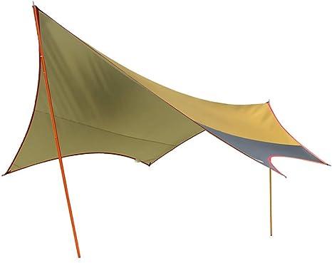 LAL6 Canopy Carpa Viajes al Aire Libre Camping pérgola Hierro Apoyo Familiar Tienda: Amazon.es: Deportes y aire libre