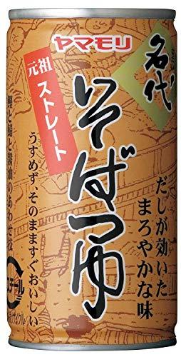 야마모리 명대 소바쯔유 캔195g ×15개