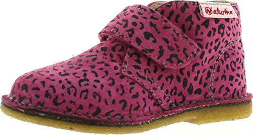 Naturino Girls 4680 Fashion Chukka Boots,Fuchsia Jaguar,24 ()