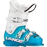 Lange Starlett 50 Ski Boot - Kids' Aqua/White, 17.5