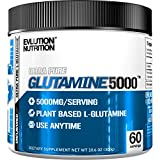 Evlution Nutrition Glutamine 5000 5 Grams of Pure Glutamine in Each Serving Unflavored