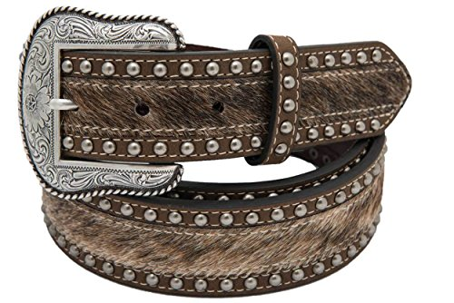 Calf with Smooth Leather 38mm Belt, 38, Brown (Smooth Mens Roper)