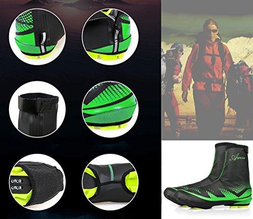 Couverture Impermables Plein Leadfas Hiver Air Vtt Sports Route Pluie De Couvre Vert Protecteur vent Pieds Chaussures Chauffe Vlo Montagne Couvre Plus Protection Coupe chaussures Cyclisme xnXqfXI0r