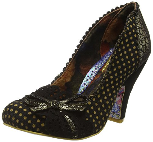 Irregular Choice Make My Day Damen Pumps Schwarz (Schwarz/Gold)