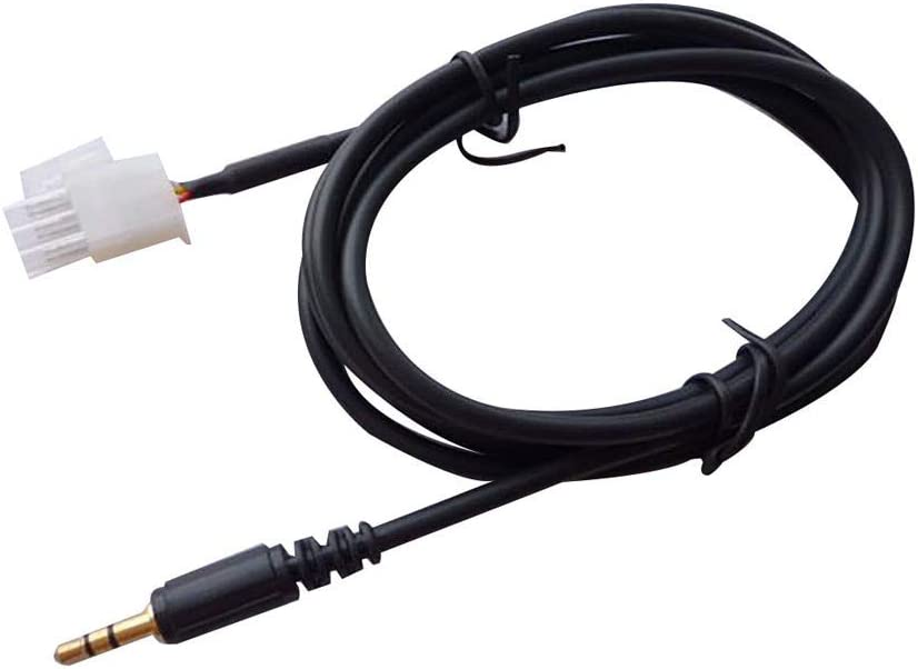 DingLong - Cable Auxiliar para Smartphone (3,5 mm, 3 Pines, para Honda GL1800 Goldwing, 40 g): Amazon.es: Electrónica