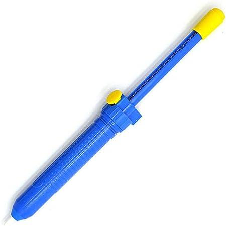 Blue Portable Suction Tin Desoldering Handheld Welding Solder Pump Sucker Tool