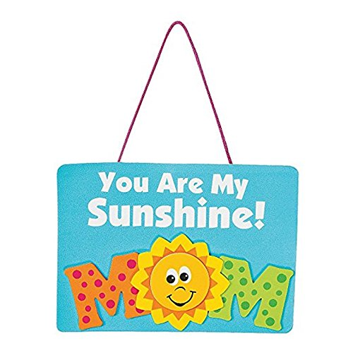 - Set of 12 YOU ARE MY SUNSHINE MOM Mother's Day Love Foam Project Craft Kits ~ 7
