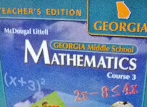 McDougal Littell Math Course 3: Teacher's Edition 2007
