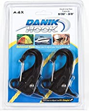 Danik Hook Mini, Pack of 2, High Strength Composite, Easy to Use, Knotless Anchor System with Quick Release, H