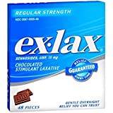 Ex-Lax Chocolated Stimulant Laxative, Regular