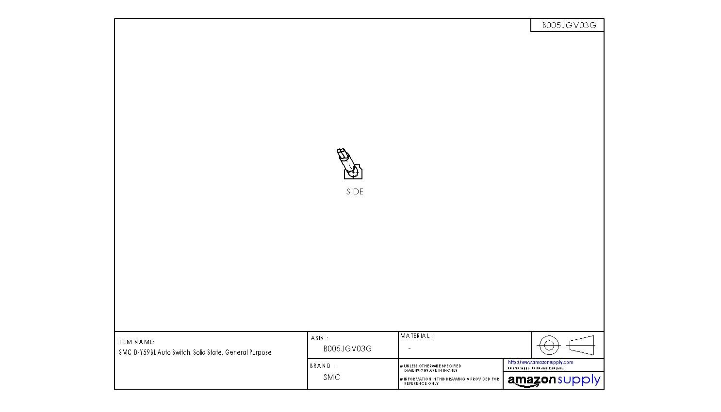 SMC D-Y59BL Interruptor de estado sólido, ojal de montaje directo en línea: Amazon.es: Industria, empresas y ciencia