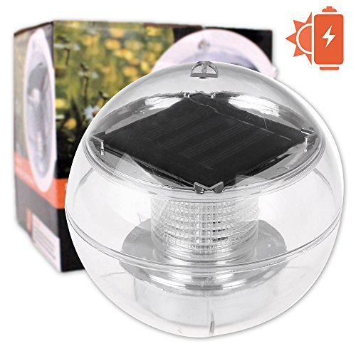 solar floating led light solar powered garden pond pool floating light hanging - Hinterhoflandschaften