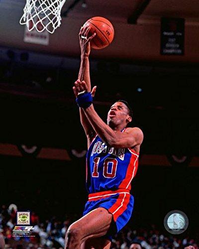Dennis Rodman Detroit Pistons Action Photo (Size: 8
