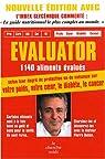 Evaluator : 1140 Aliments testés, 6000 conseils et commentaires par Dukan