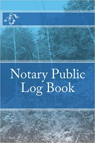 notary public log book template