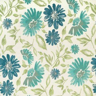 (Sunbrella Violetta Baltic #45760-0002 Indoor / Outdoor Upholstery Fabric)