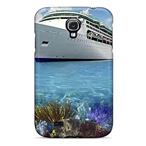 EnjoyTime Perfect Tpu Case For Galaxy S4/ Anti-scratch Protector Case (fantasy Coral Reef Cruise)